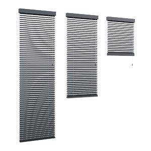 c4d grey metal shutters