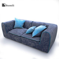 busnelli igloo sofa 3d 3ds