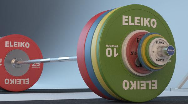 eleiko weightlifting barbell set max