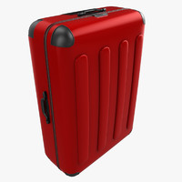 suitcase baggage 3d 3ds