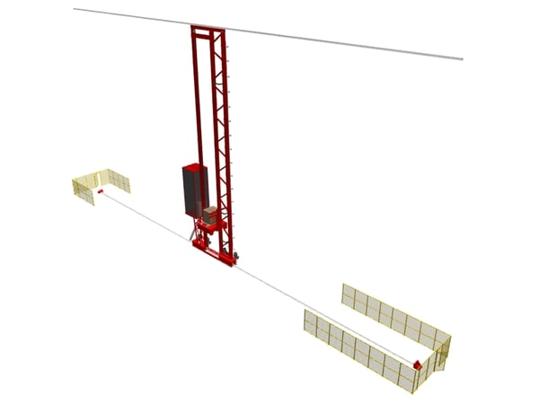 3d model asrs crane