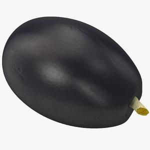 3d model black olive
