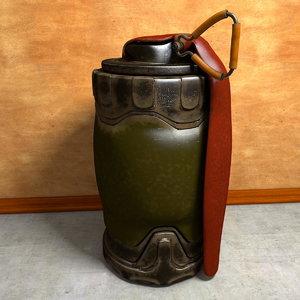 sci-fi hand grenade 3d c4d