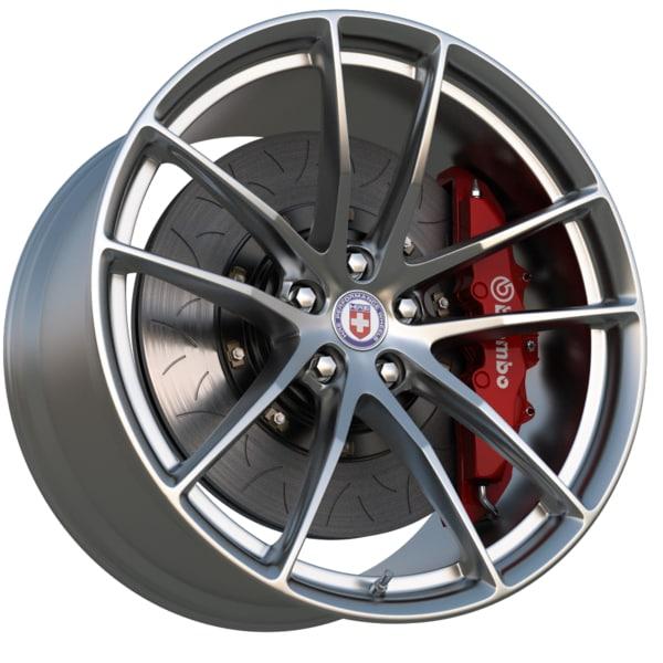 hre wheel p1 series 3d max