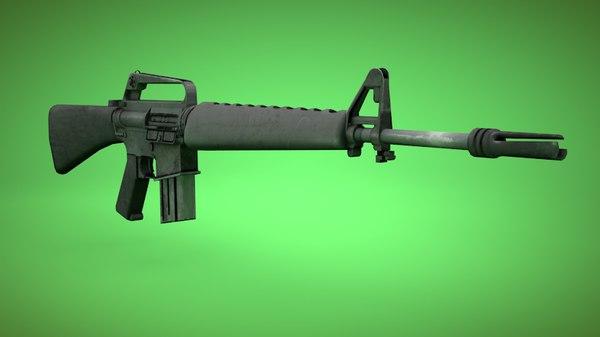 m16 gun 3ds