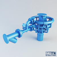3d mixer industry model