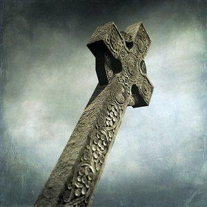 3d model of celtic cross