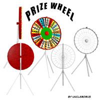 prize wheel obj