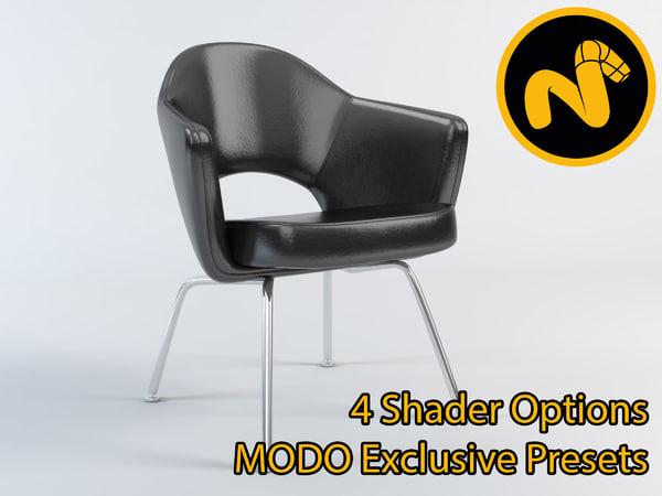 3d saarinen executive armchair model