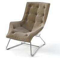 3d max zanotta grandtour chair