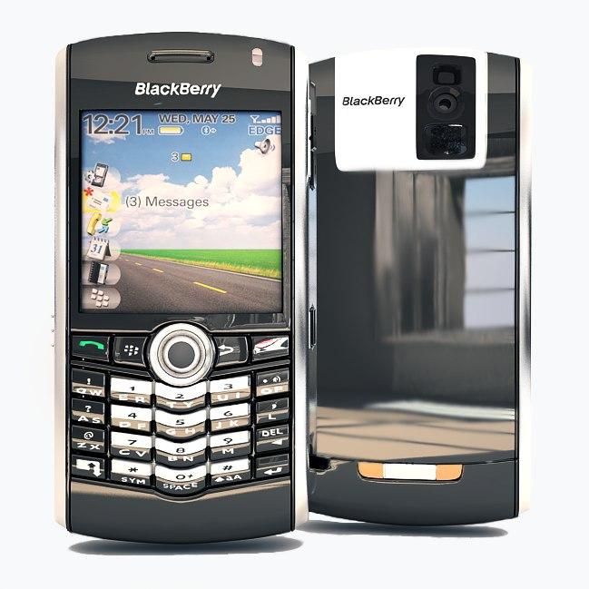 blackberry 8100 c4d