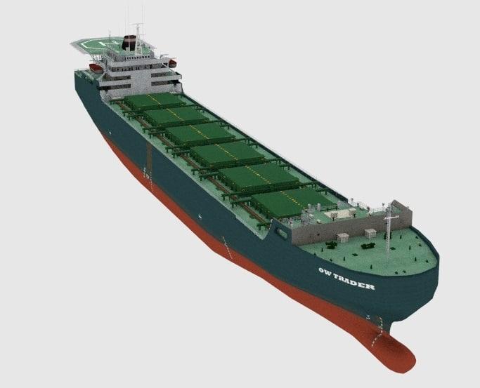 cargo ship 3d 3ds