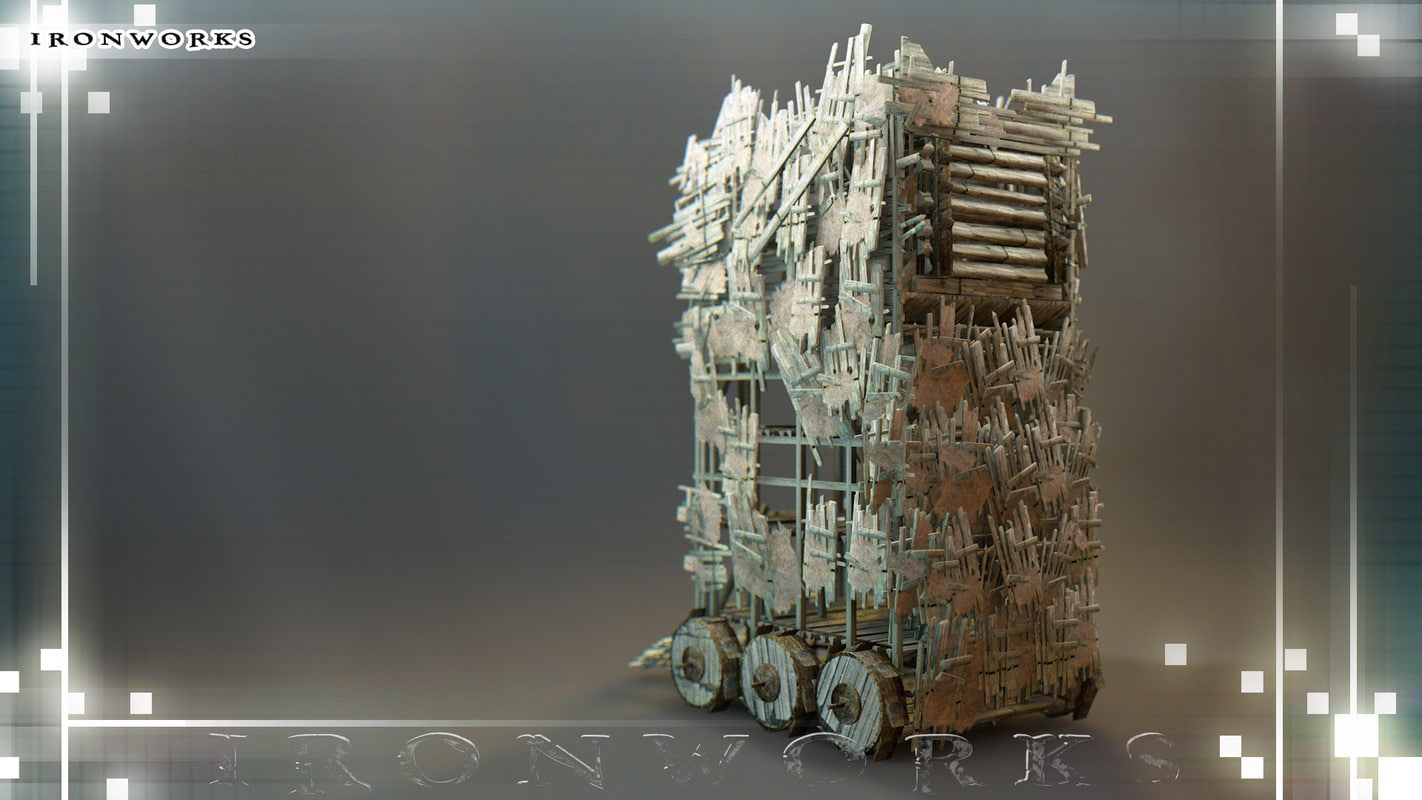 3d siege tower
