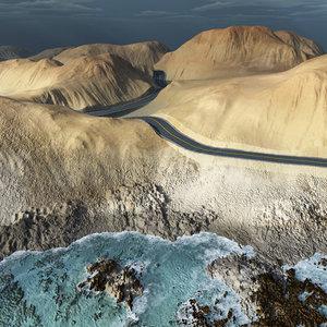 road vue 3d model