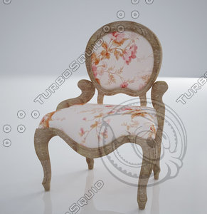 shabby chaire 3ds