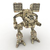 Army Mech Warrior Robot  V2