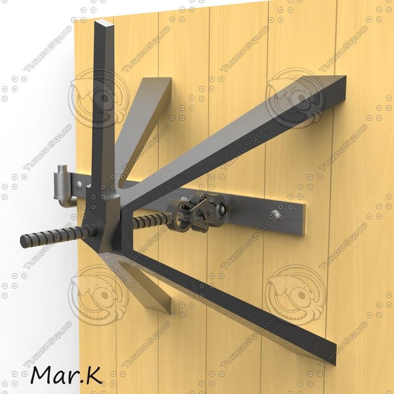 lock extractor 3d model