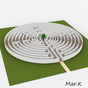 labyrinth 1600 3d 3ds