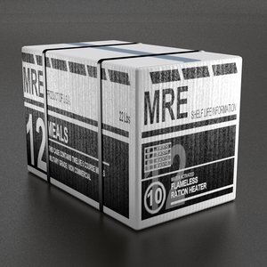 mre box 3d obj