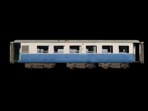 3d model thai train