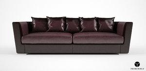 3d promemoria dolce vita sofa