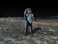 3d nasa z2 space suit model