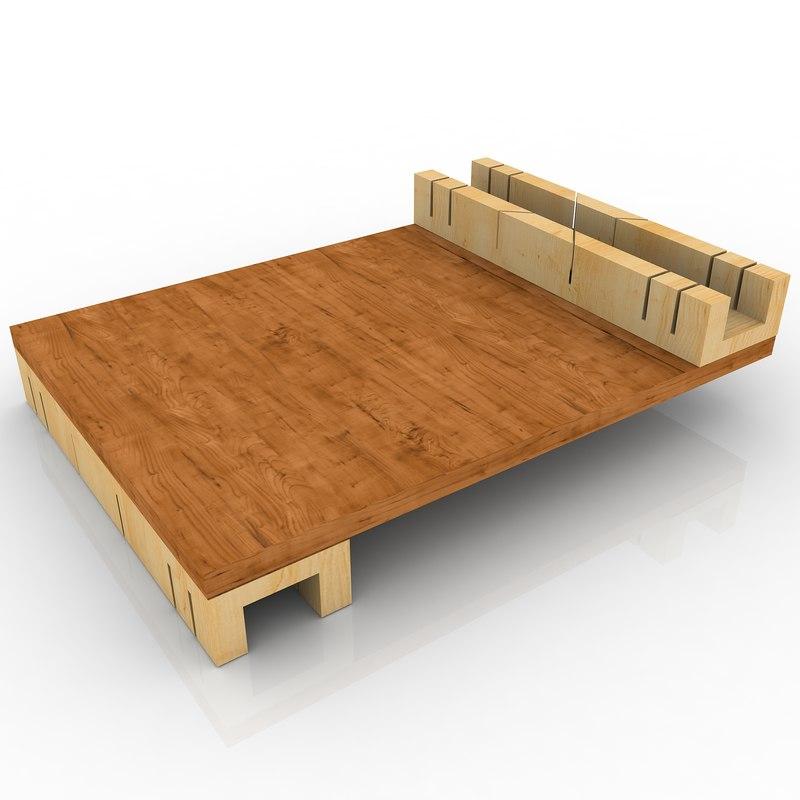 bench hook 3d model