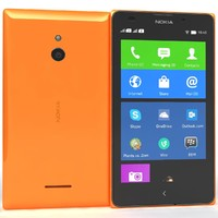 Nokia XL Orange