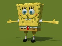 3ds max sponge bob