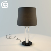 3d twins table lamp model
