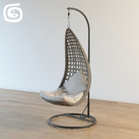 mail garden chair 3d max
