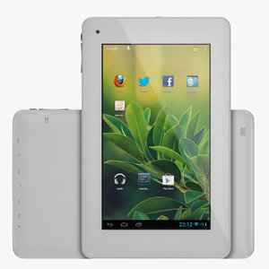 android light tablet 3d model