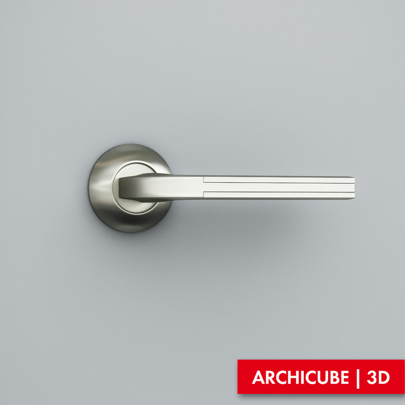 door handle 3d obj