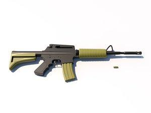 c4d m16 ar-15 5