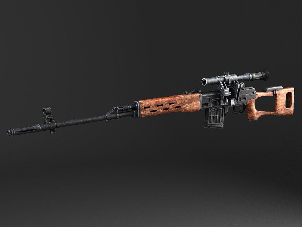 swd dragunov sniper 3d 3ds