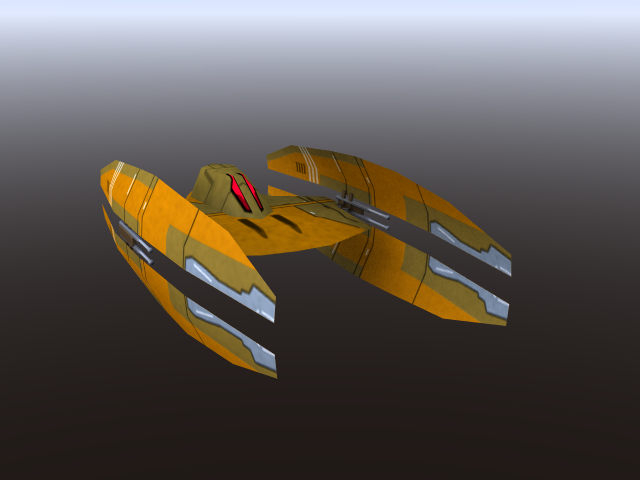 free lwo mode trade federation droid starfighter