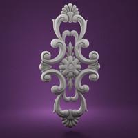 moulding decorative architectural 3d model