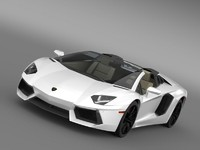 Lamborghini Aventador LP 700 4 Roadster US spec