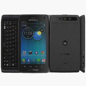 motorola droid 4 xt894 3d model