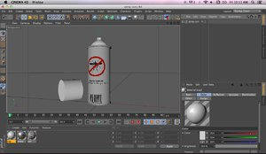 3d model mosquito spray
