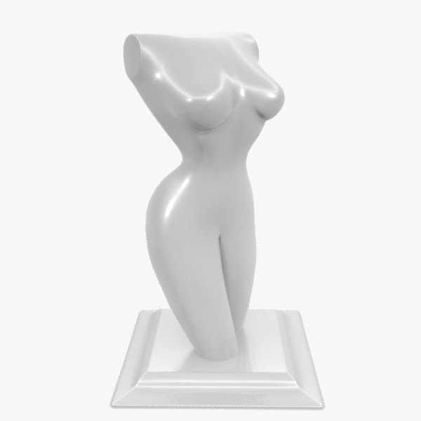 3d model sculpture woman