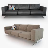 carlton sofa 3d model