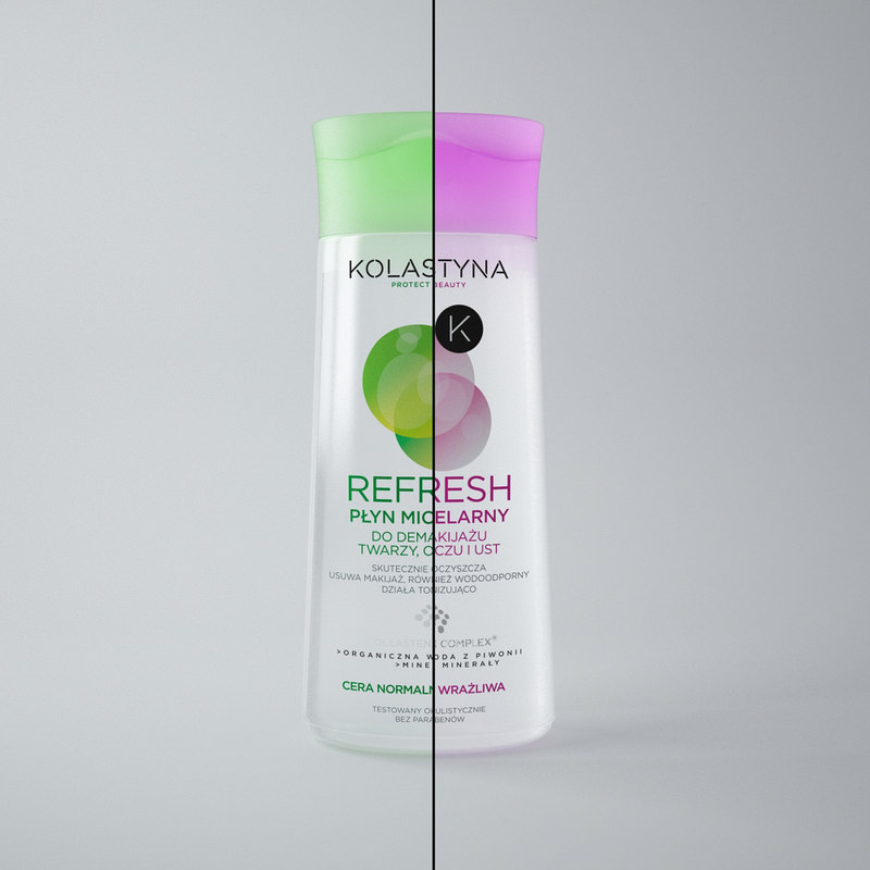 modelled cosmetics bottle 3ds