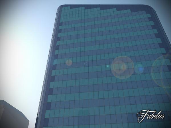 max skyscraper modular mentalray