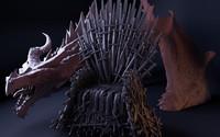 thrones 3d model