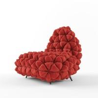 anana chair 3d model