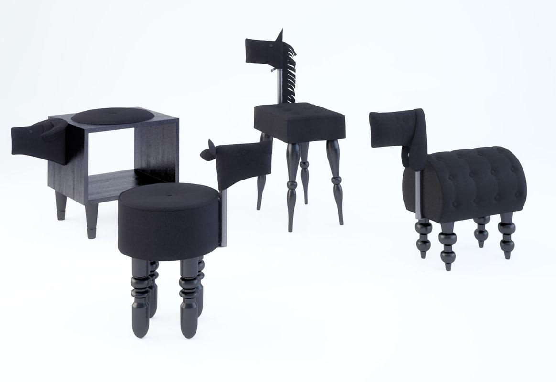 furniture animal chair ii-shadow max free