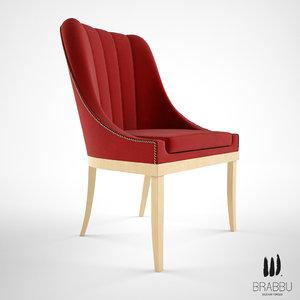 3d brabbu kayapo dining chair