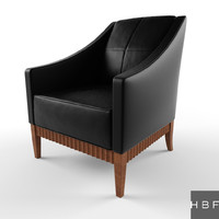 hbf charlie lounge seating 3d max