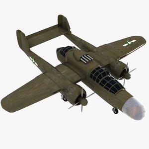 3ds cartoon fighter aircraft